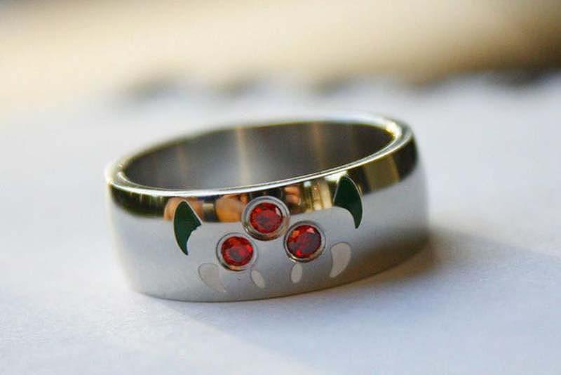 unusualringsforgamers 18 Самые необычные обручальные кольца