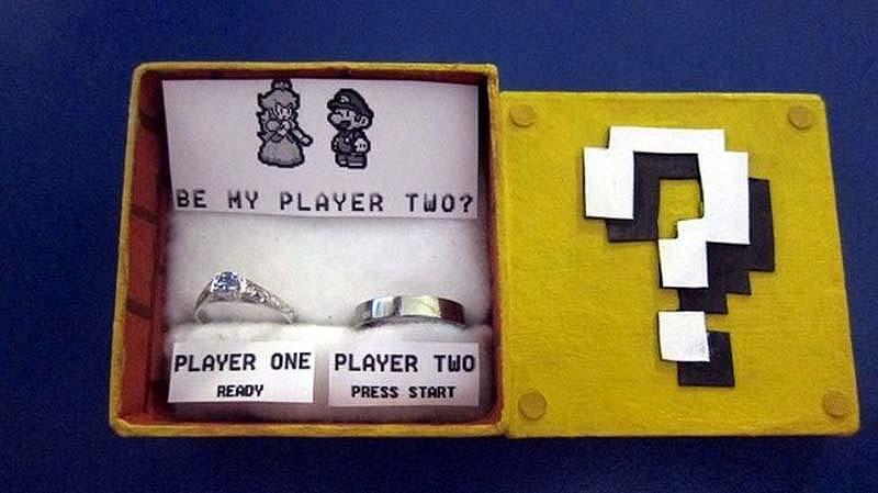 unusualringsforgamers 2 Самые необычные обручальные кольца