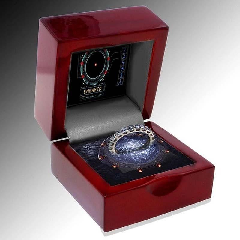 unusualringsforgamers 26 Самые необычные обручальные кольца
