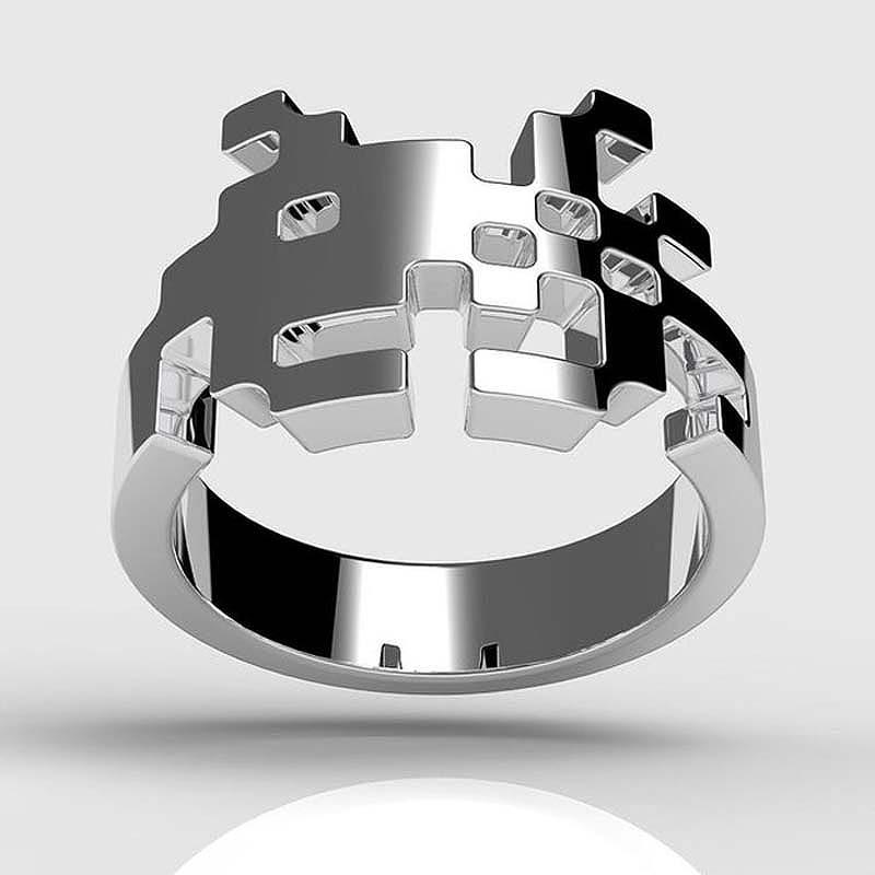 unusualringsforgamers 27 Самые необычные обручальные кольца