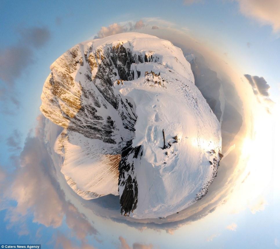 whole world in one frame 3 Весь мир в одном кадре   панорамы, похожие на планеты