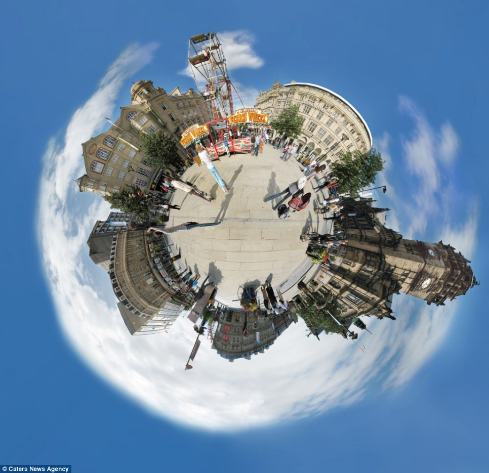 whole world in one frame 5 Весь мир в одном кадре   панорамы, похожие на планеты