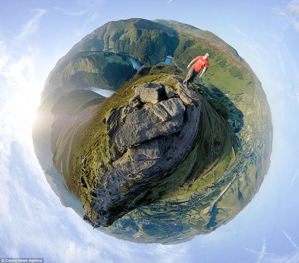 whole world in one frame 6 Весь мир в одном кадре   панорамы, похожие на планеты