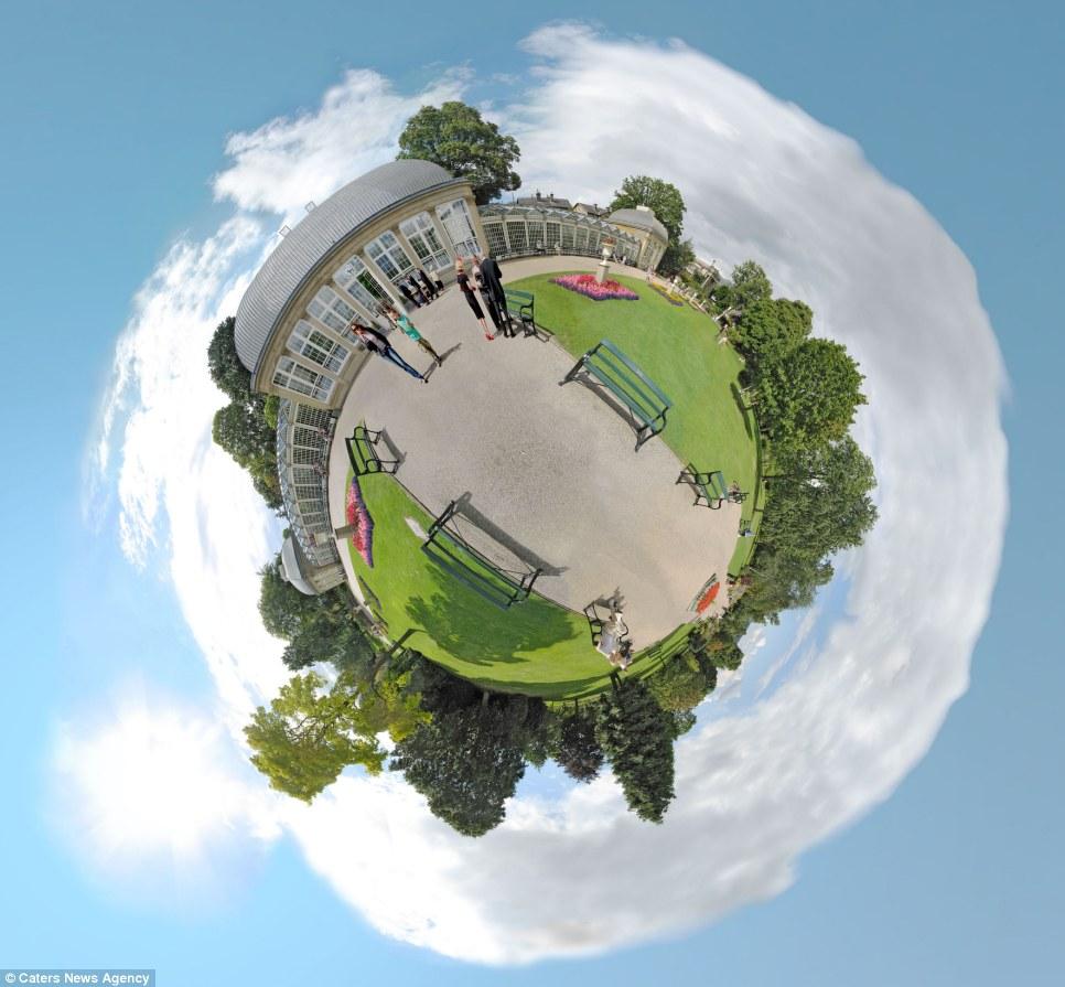 whole world in one frame 7 Весь мир в одном кадре   панорамы, похожие на планеты