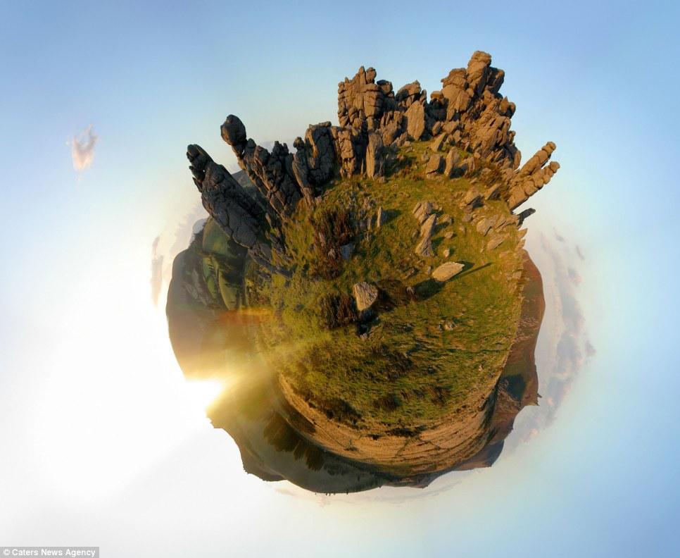 whole world in one frame 9 Весь мир в одном кадре   панорамы, похожие на планеты