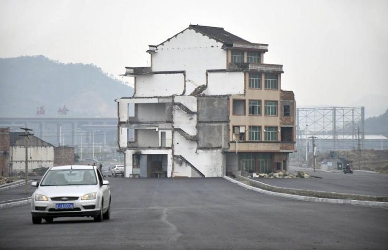 Борьба китайских властей и владельцев старых домов