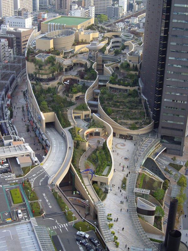 8urovnenipark 14 8 уровневый парк на крыше в Осаке