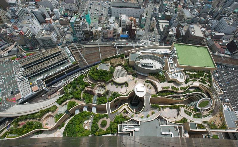 8urovnenipark 2 8 уровневый парк на крыше в Осаке