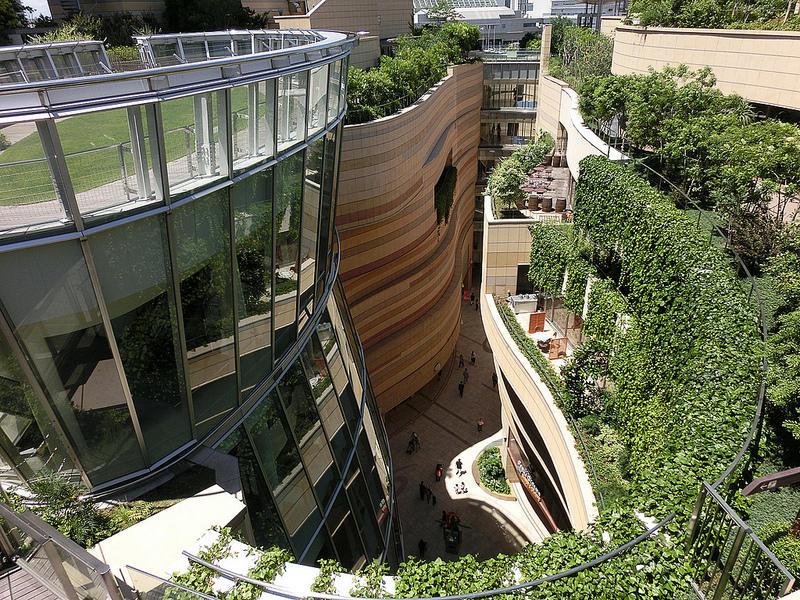 8urovnenipark 3 8 уровневый парк на крыше в Осаке