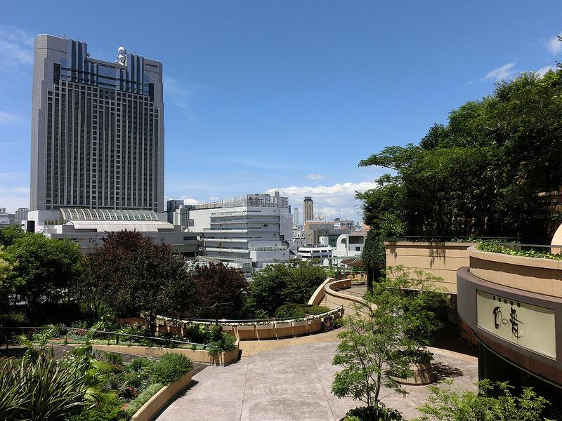 8urovnenipark 4 8 уровневый парк на крыше в Осаке