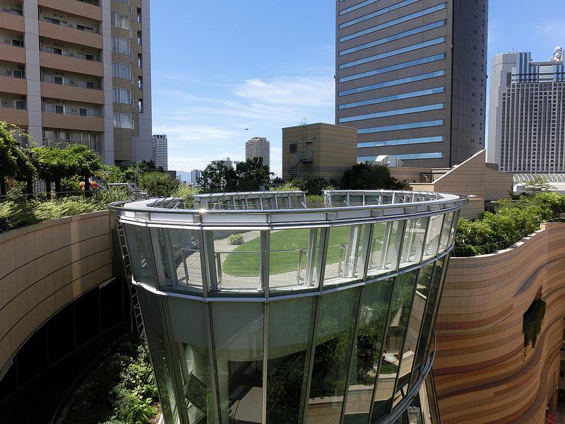 8urovnenipark 5 8 уровневый парк на крыше в Осаке