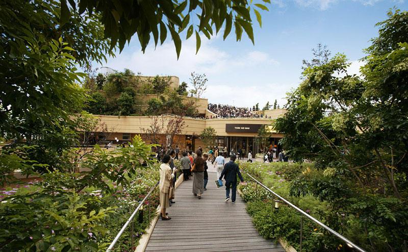 8urovnenipark 6 8 уровневый парк на крыше в Осаке
