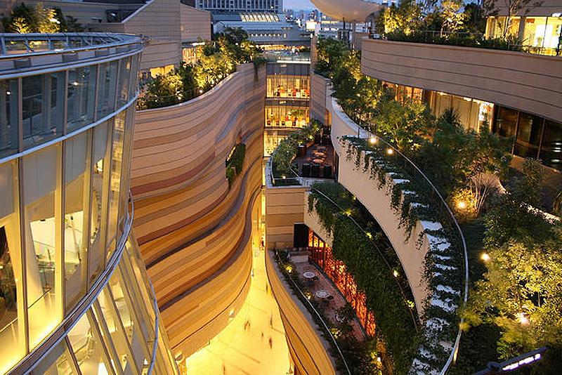8urovnenipark 9 8 уровневый парк на крыше в Осаке
