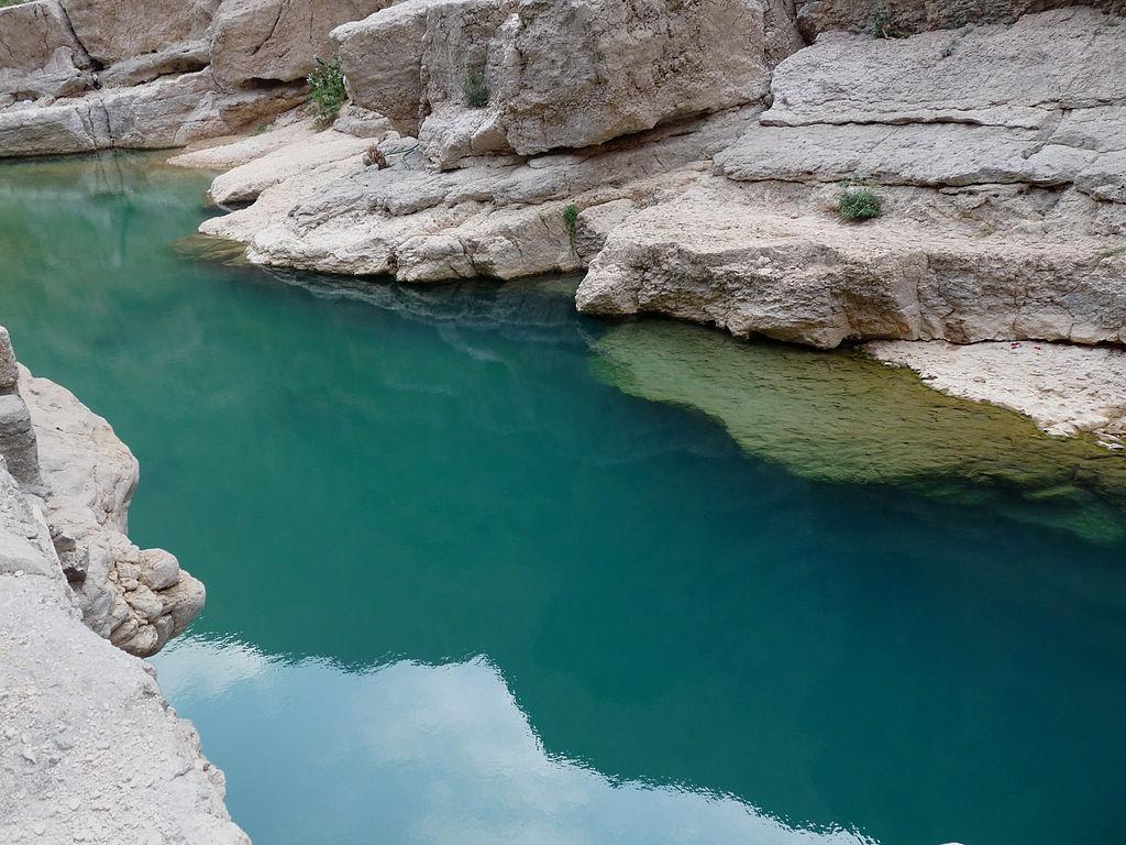93G1v000 Вади Шааб   райский уголок в оманской пустыне