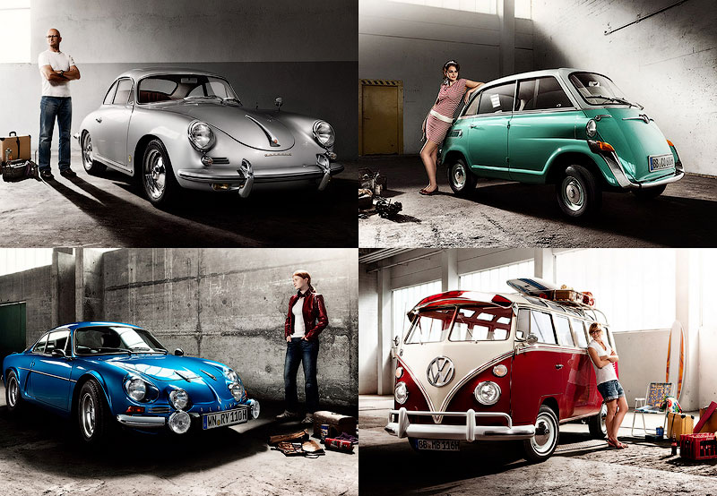 BIGPIC Календарь ретро автомобилей
