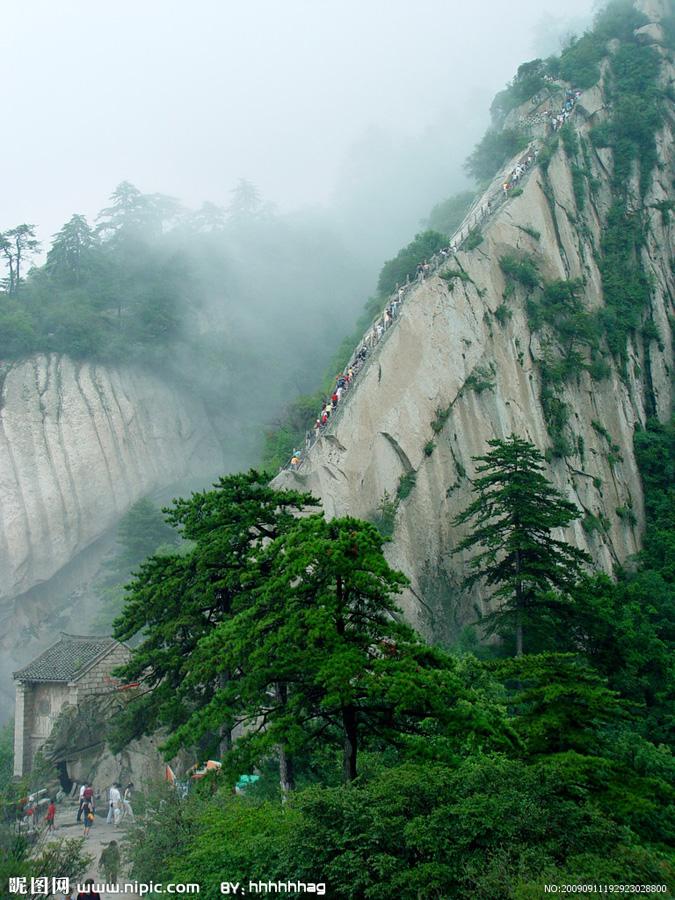 Huashan Mountain 2 Тропа смерти