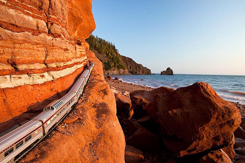 Journey Through Canada 1 Путешествие мини поезда через Канаду