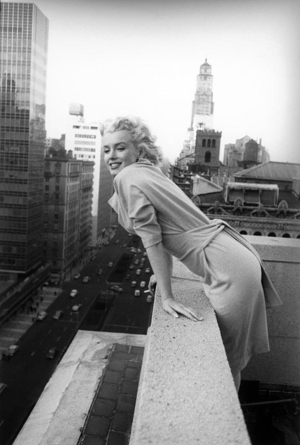 Marilyn Monroe 1 Мэрилин Монро на фото Эда Файнгерша