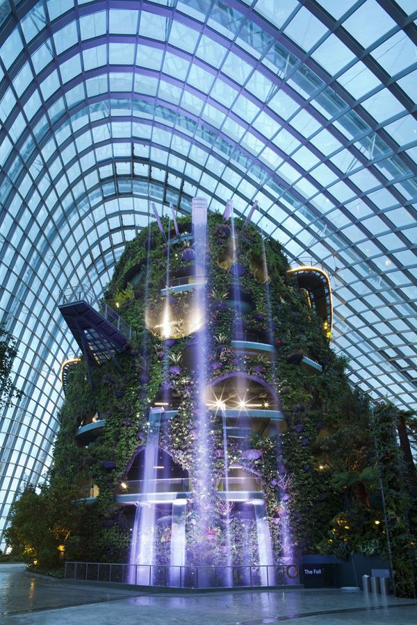 Singapur 11 Великолепные оранжереи Сингапура
