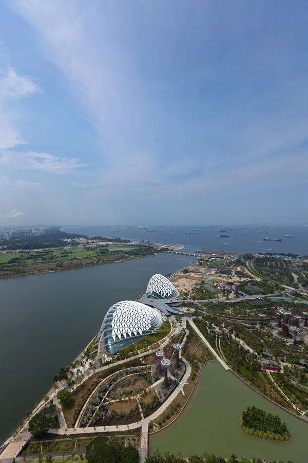 Singapur 12 Великолепные оранжереи Сингапура