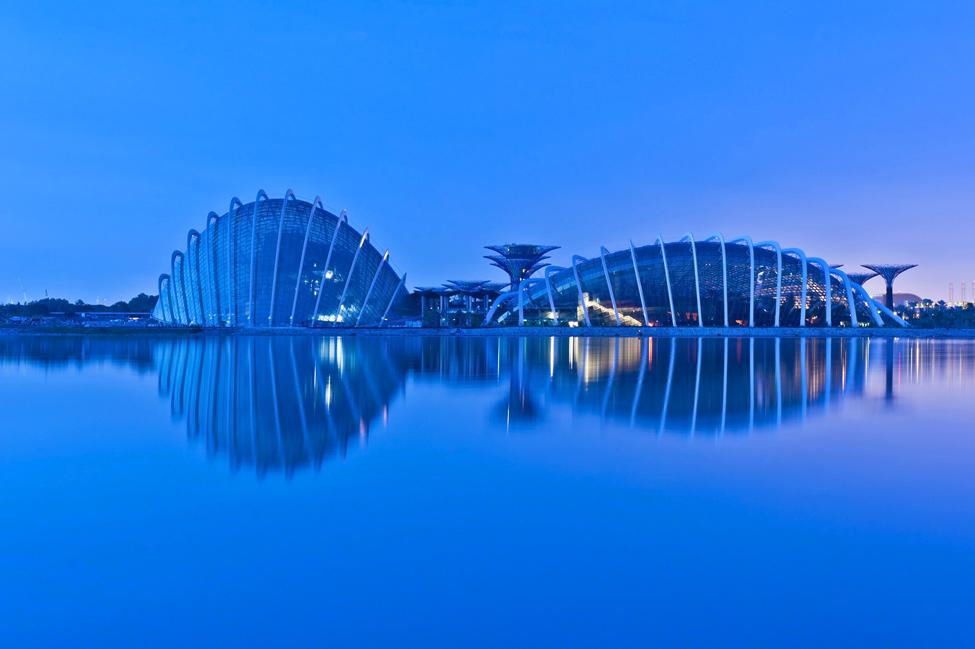 Singapur 13 Великолепные оранжереи Сингапура