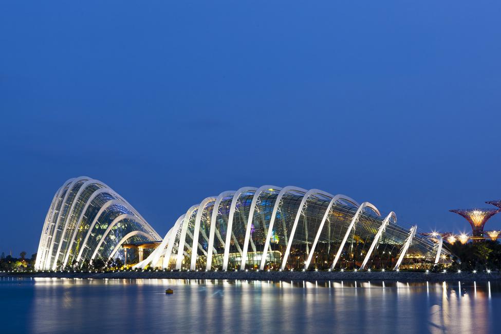 Singapur 2 Великолепные оранжереи Сингапура