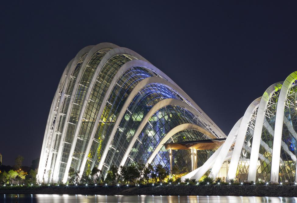 Singapur 3 Великолепные оранжереи Сингапура