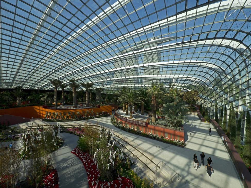 Singapur 6 Великолепные оранжереи Сингапура
