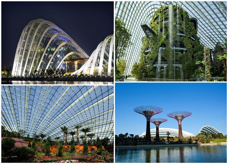 Великолепные оранжереи Сингапура