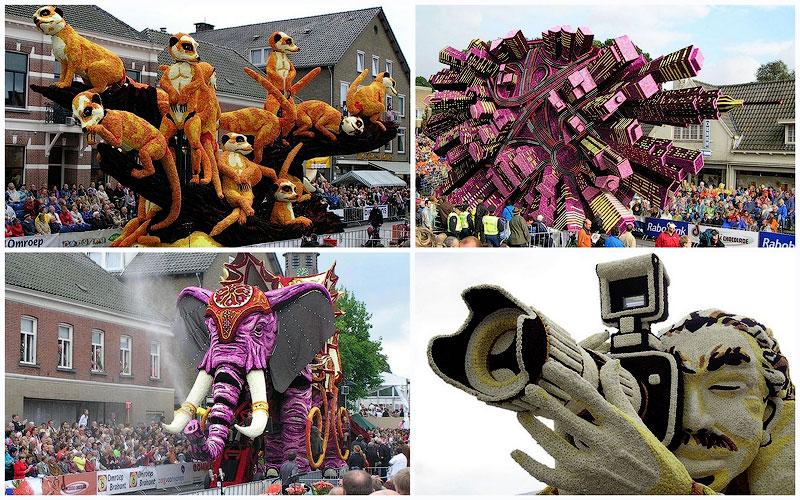 TEMP11 Грандиозные скульптуры из цветов в голландском Зюндерте