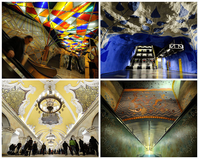TEMP20 Самые впечатляющие станции метро в Европе