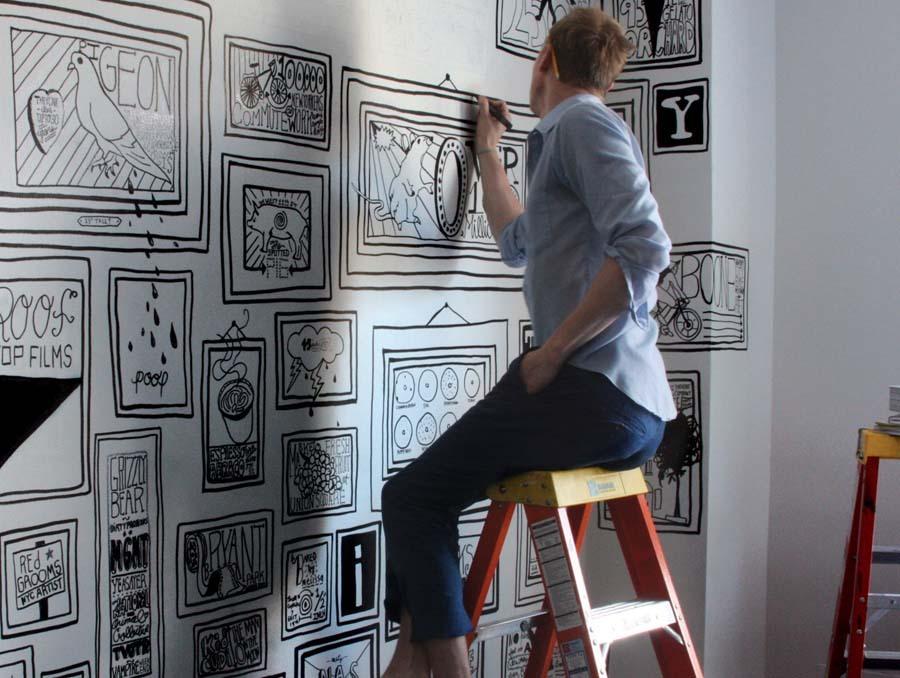 Timothy Goodman 4 Ручная роспись стен, или фрески XXI века