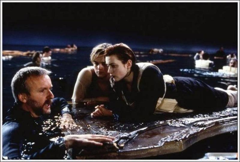 Titanik 10 Как снимали Титаник: редкие фото со съёмок