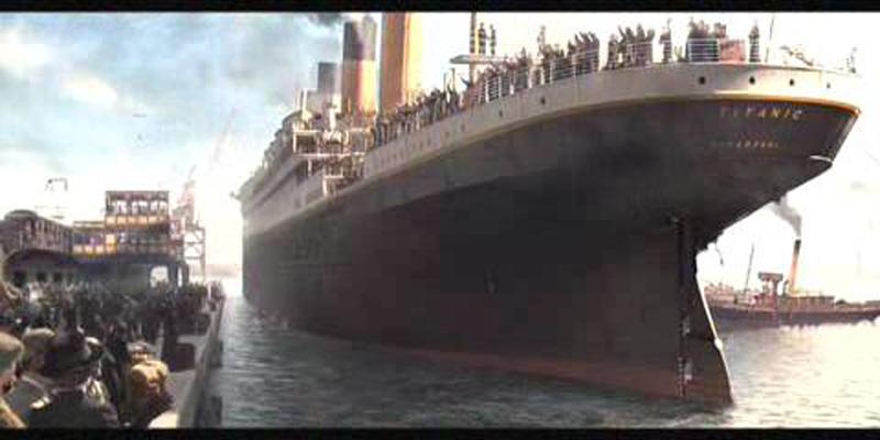 Titanik 11 Как снимали Титаник: редкие фото со съёмок