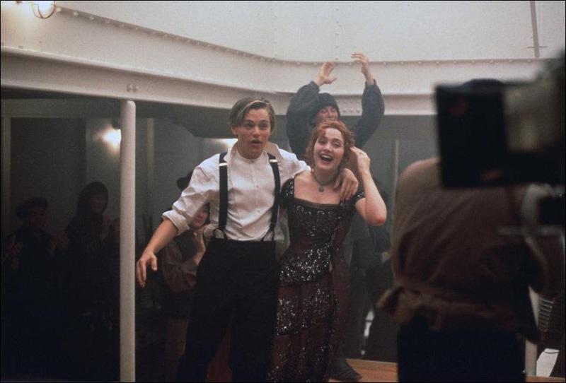 Titanik 14 Как снимали Титаник: редкие фото со съёмок