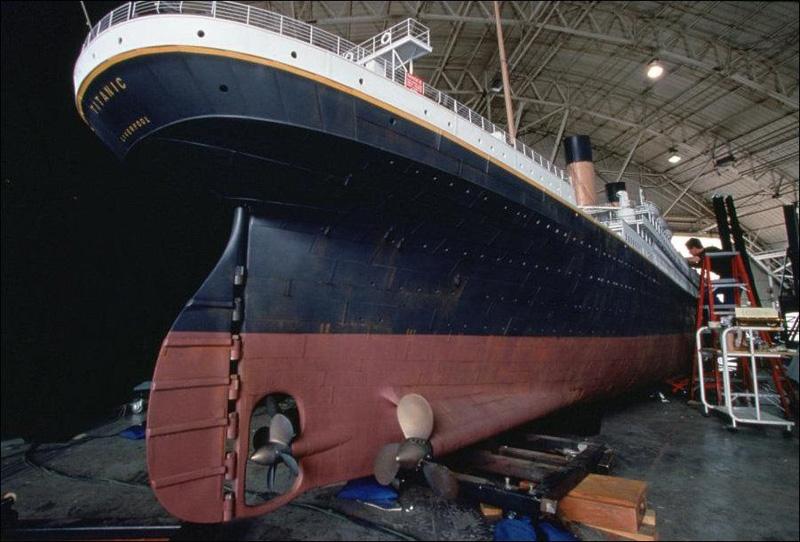 Titanik 15 Как снимали Титаник: редкие фото со съёмок