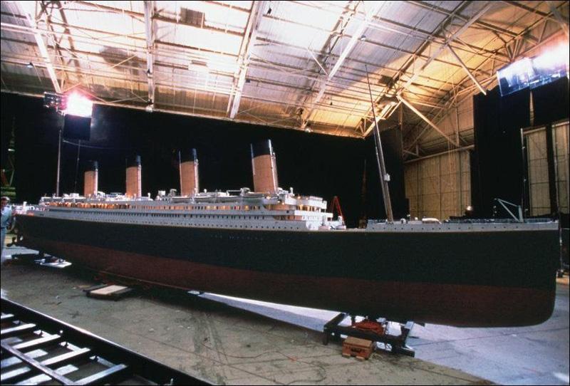 Titanik 16 Как снимали Титаник: редкие фото со съёмок