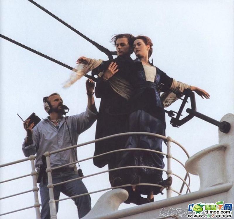 Titanik 17 Как снимали Титаник: редкие фото со съёмок