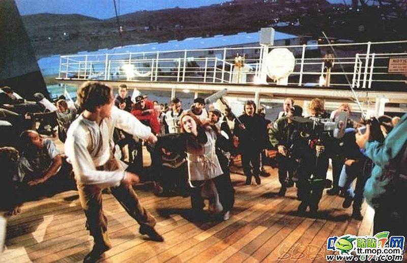 Titanik 19 Как снимали Титаник: редкие фото со съёмок