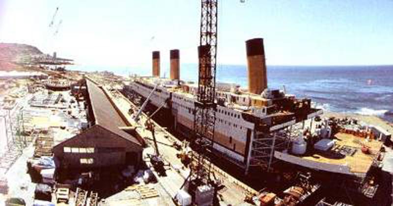 Titanik 2 Как снимали Титаник: редкие фото со съёмок