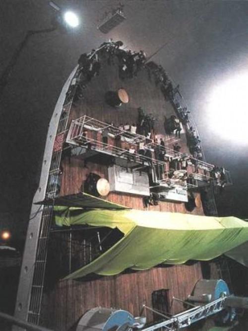 Titanik 21 Как снимали Титаник: редкие фото со съёмок