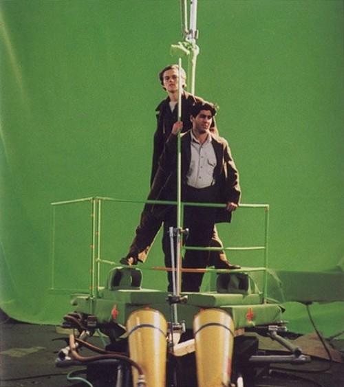 Titanik 22 Как снимали Титаник: редкие фото со съёмок