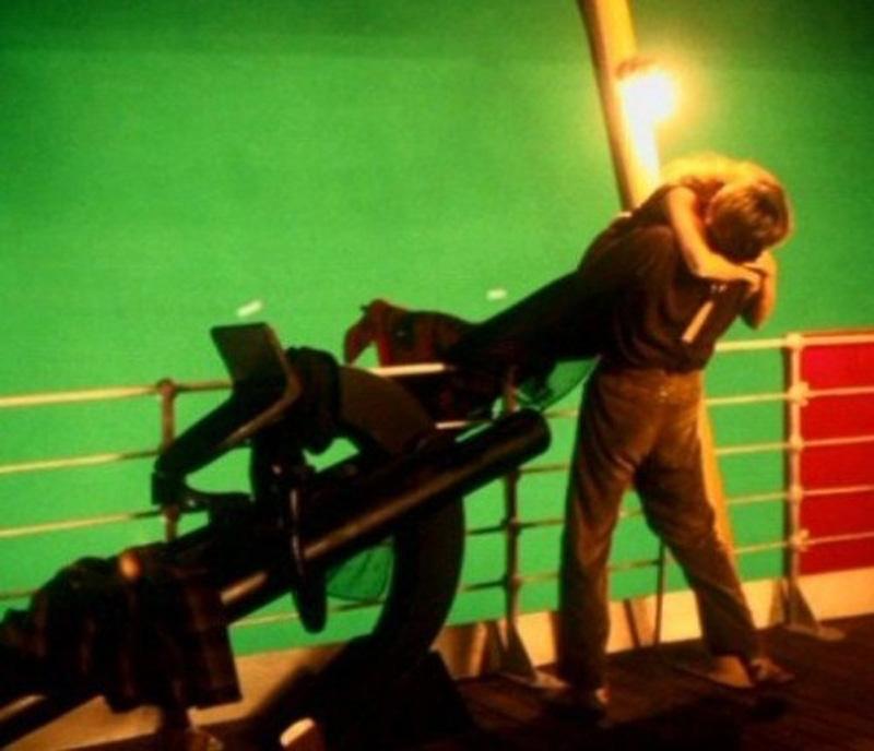 Titanik 24 Как снимали Титаник: редкие фото со съёмок