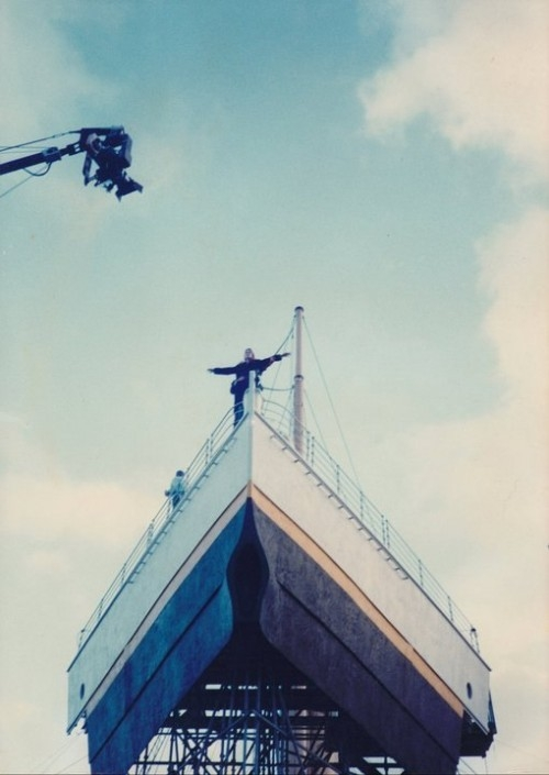 Titanik 25 Как снимали Титаник: редкие фото со съёмок