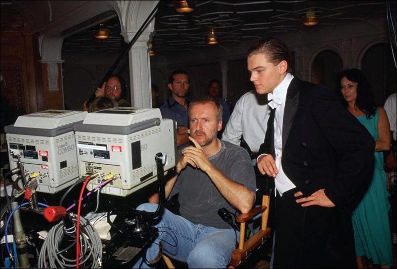 Titanik 3 Как снимали Титаник: редкие фото со съёмок
