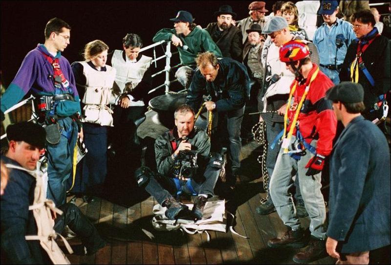 Titanik 32 Как снимали Титаник: редкие фото со съёмок