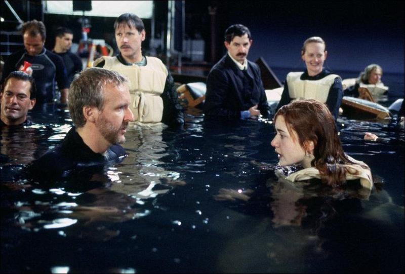 Titanik 37 Как снимали Титаник: редкие фото со съёмок