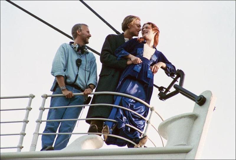 Titanik 43 Как снимали Титаник: редкие фото со съёмок