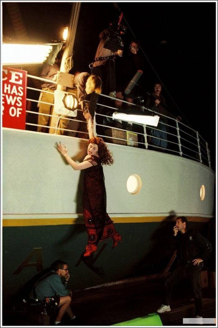 Titanik 49 Как снимали Титаник: редкие фото со съёмок