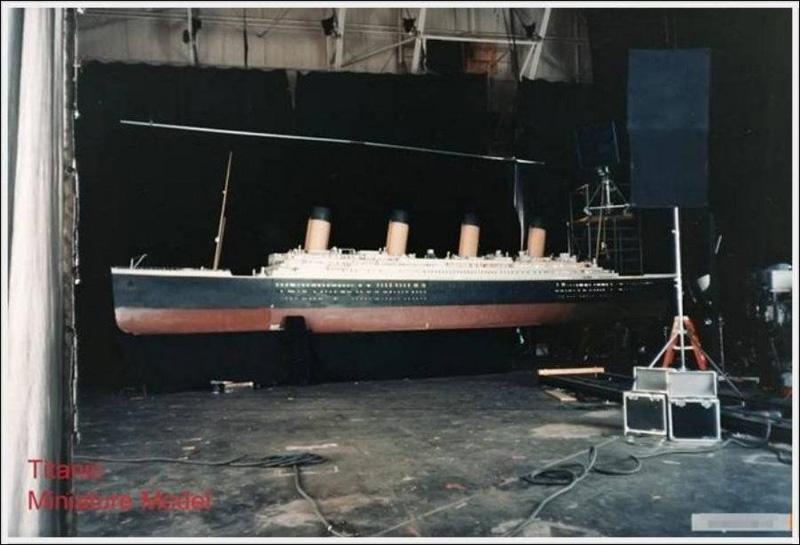 Titanik 5 Как снимали Титаник: редкие фото со съёмок